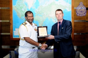 Head of UN's Global Maritime Crime Programme calls on Navy Chief