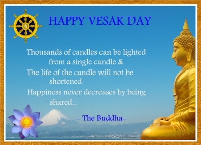 Happy Vesak Festival