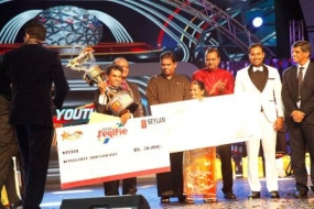 Minister at 'Youth with Talent' grand finale