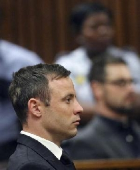 Pistorius sentenced to five-year jail term for killing girlfriend
