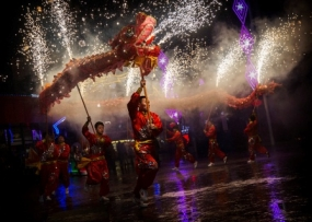 Happy Chinese New Year celebrations in Colombo