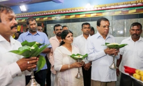 President visits Koneswaram Temple in Trinco