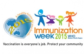 World Immunization Week 2015 commences from today