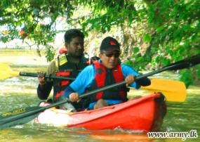 Commandos Launch Waterborne Adventure Along Mahaweli River