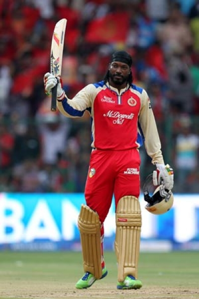 Gayle becomes first World Cup double - centurion