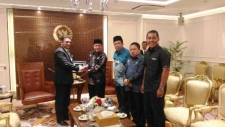 Ambassador called on Speaker of the House of Representatives of Indonesia