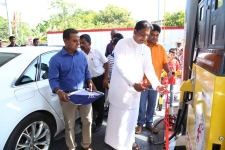 Petroleum Corporation opens 1231 filling station