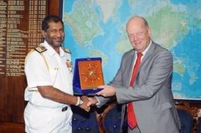 Netherland's Ambassador calls on Navy Commander