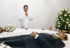 President pays last respects to Late Tony Ranasinghe