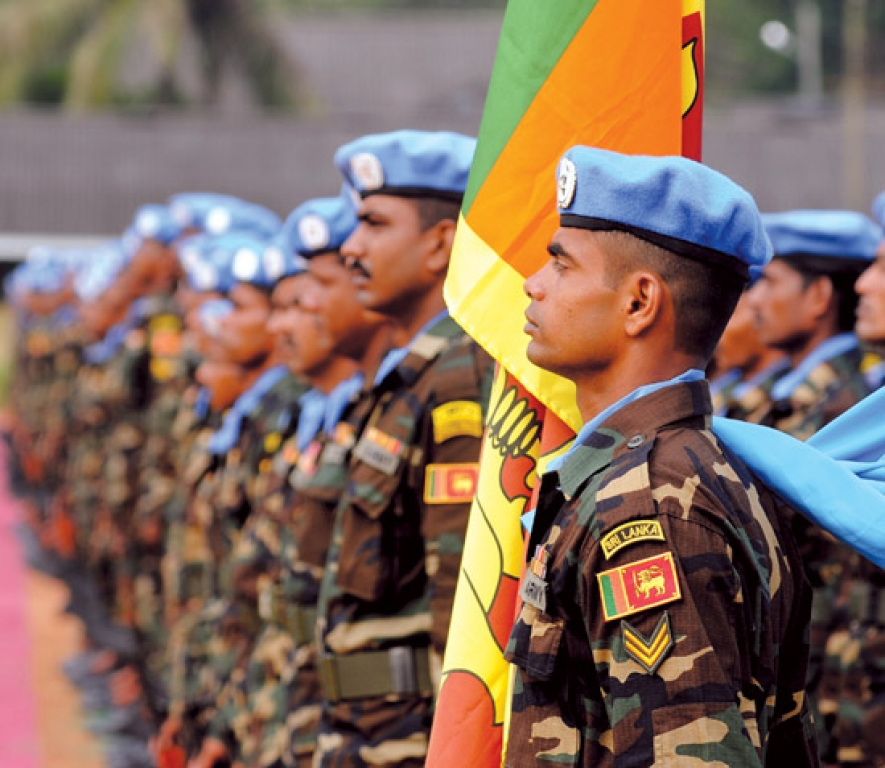 Image result for sri lankan peacekeepers haiti