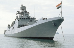 Indian Navy's Training Squadron in Trincomalee