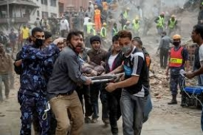 Sri Lanka condoles with Nepal on the tragic loss of life and damage to property from the Earthquake and dispatches Emergency Relief Assistance