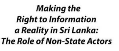 Invitation for a 'Dialogue on RTI' by UN Development Program