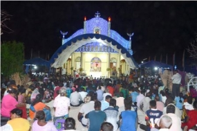 St. Anthony's Feast at  Katchatheevu Church celebrated successfully