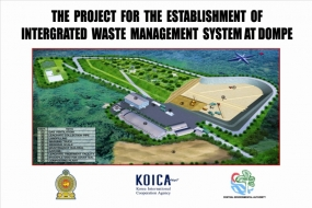 First ever Sanitary Landfill in Dompe will be opened today