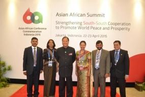 Dr. Amunugama calls for revitalizing Asian-African cooperation at  Bandung  Summit