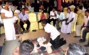 Media Workshop on Disaster Management and First Aid