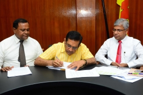 Minister signs Gazette on Drug Price Reduction