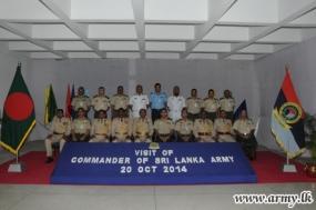 Bangladesh DSCSC Unveils Commander's Portrait & Honours Him as 3rd Foreign Commander