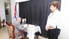 PM writes condolence message for Cuban leader