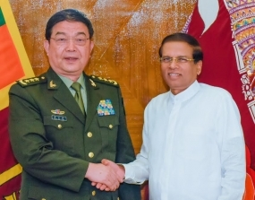 Chinese Defense Chief meets President
