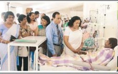 Ex-Face Book Vice President donates five Dialysis Machines