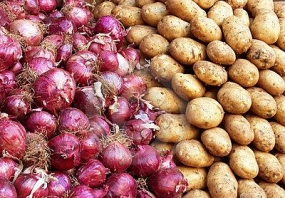 Import tax on Potatoes, B Onions increased