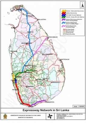 Pothuhera to Galagedera Link Expressway to connect major commercial cities