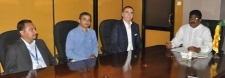 Two well-known investors in the global arena of yacht and marina construction visit sri lanka