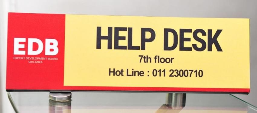 EDB establishes a help desk for Customers