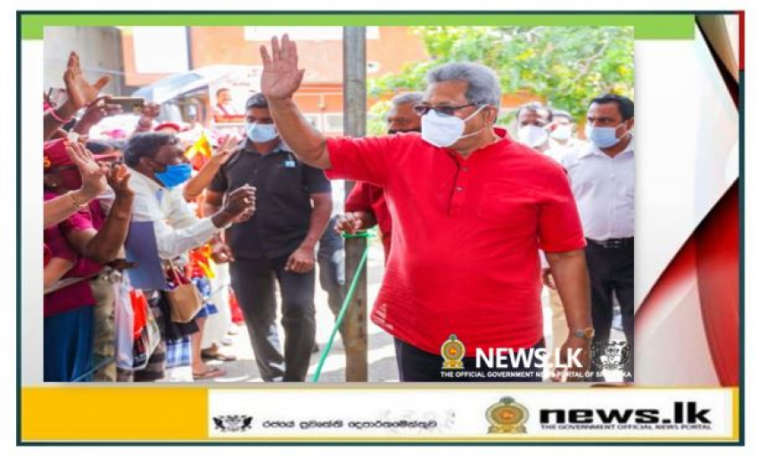 Hambantota district will be among four great Commercial Cities -President