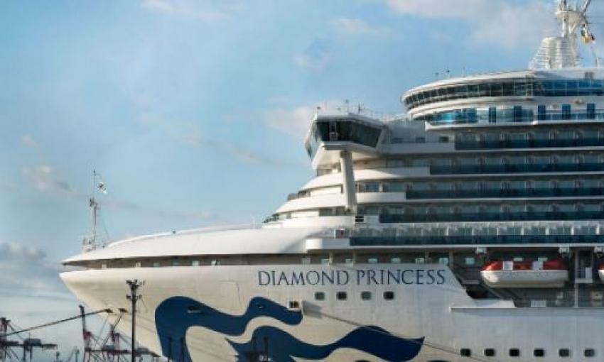 Two Sri Lankan crew members safe on board Diamond Princess