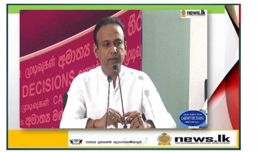 Special programme for food security in the face of the current crisis – Min. Ramesh Pathirana