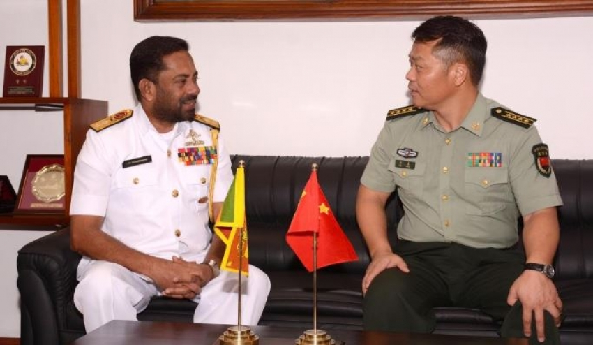 New Defence Attaché to the Chinese Embassy in Sri Lanka visits Eastern Naval Command