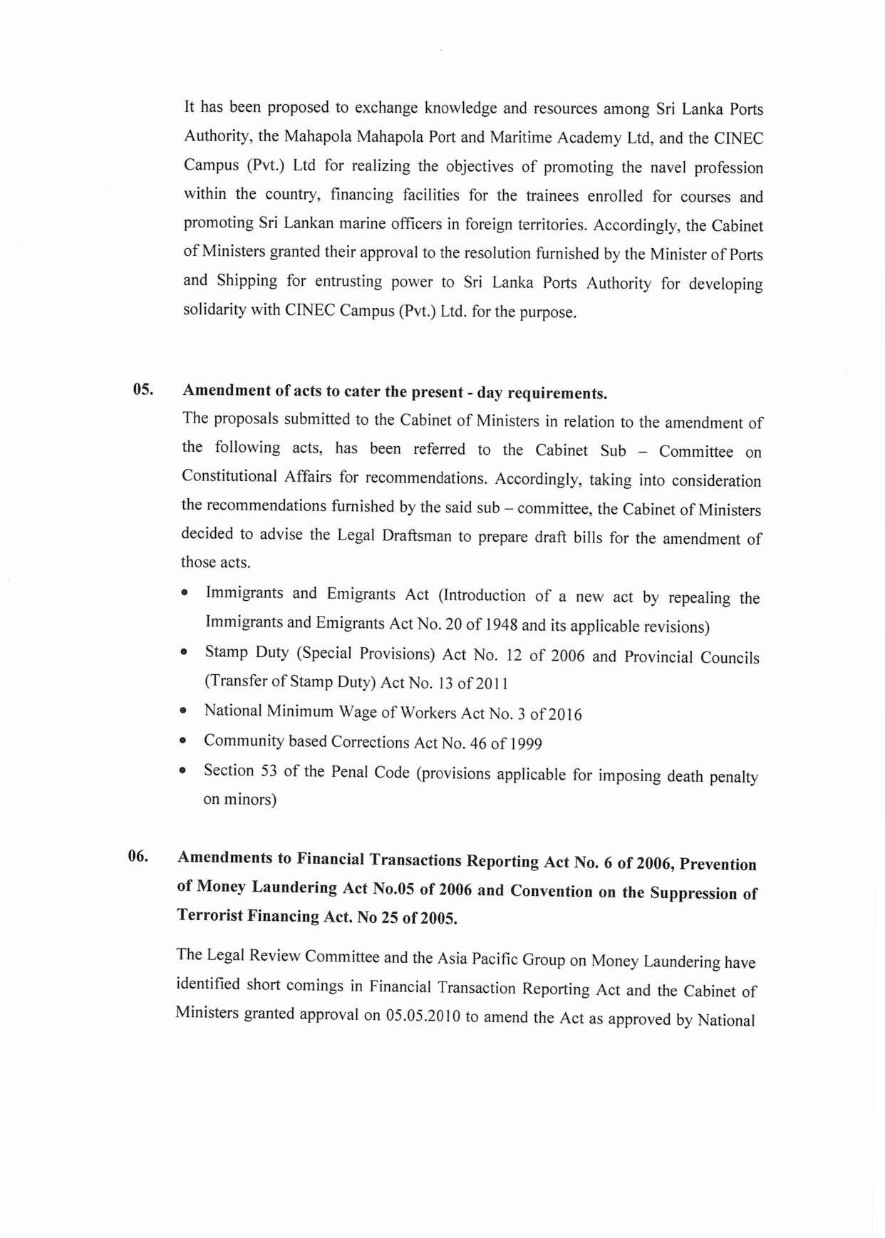 Cabinet Decision on 18.01.2021 English page 003
