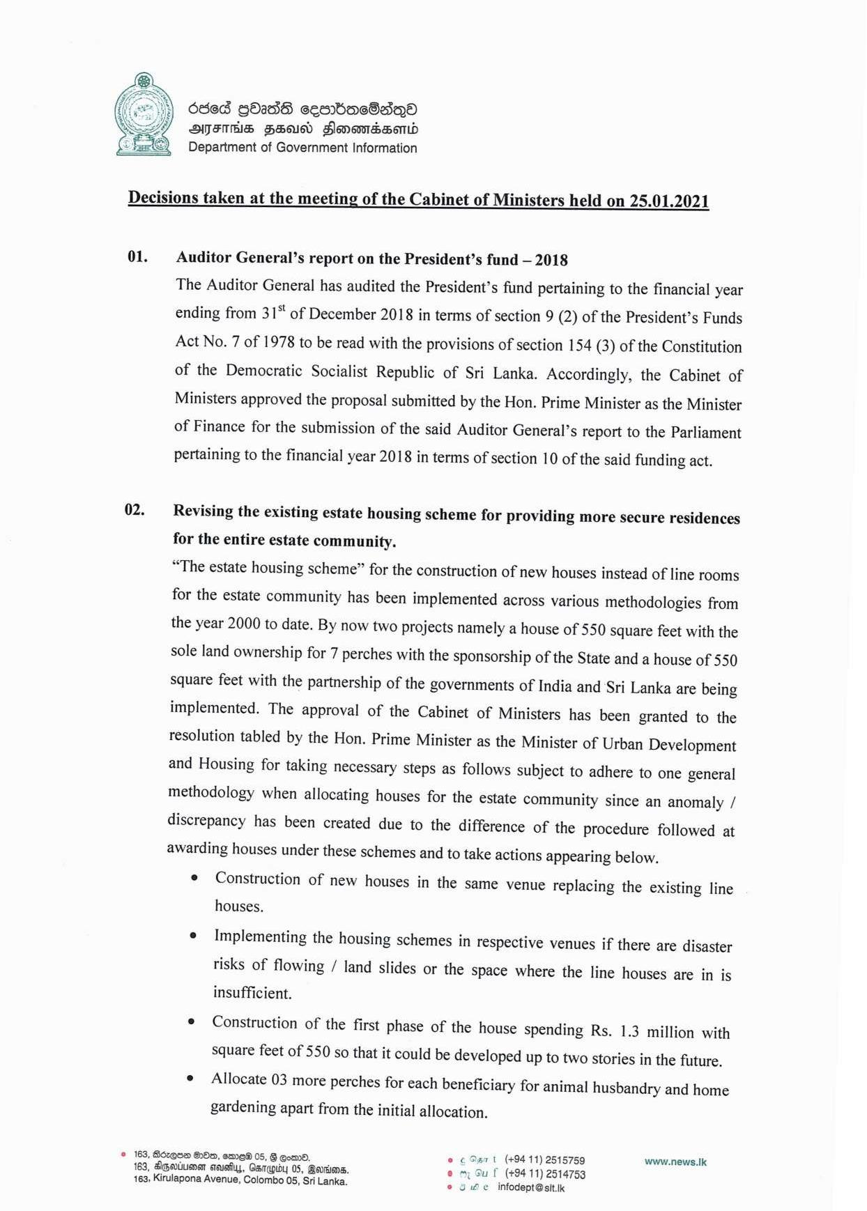 Cabinet Decision on 25.01.2021 English page 001