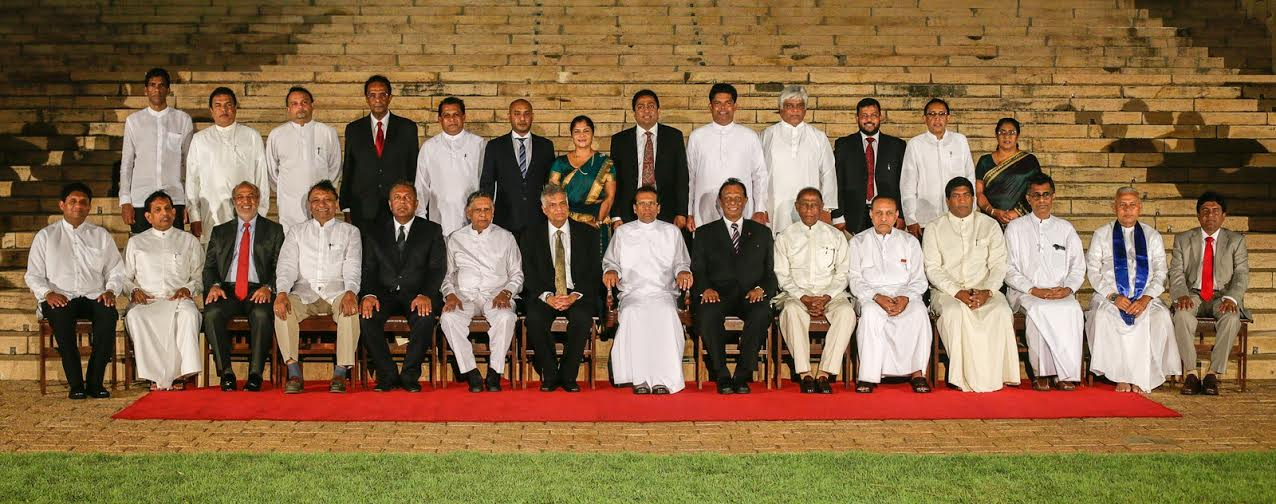 New Cabinet State and Deputy Ministers sworn