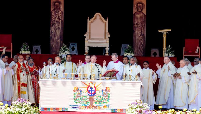 Pope Francis holds a Holy Mass at Galle Face Green Colombo 31