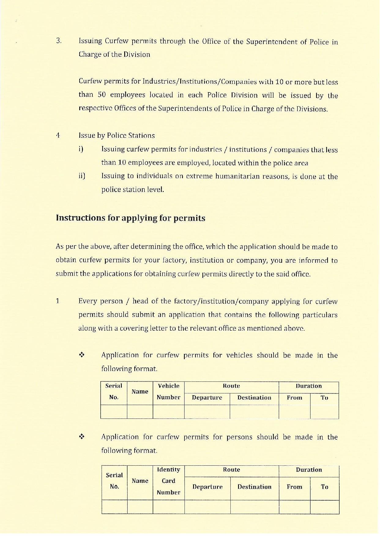 Streamlining The issuing of curfew permits English 1 page 002