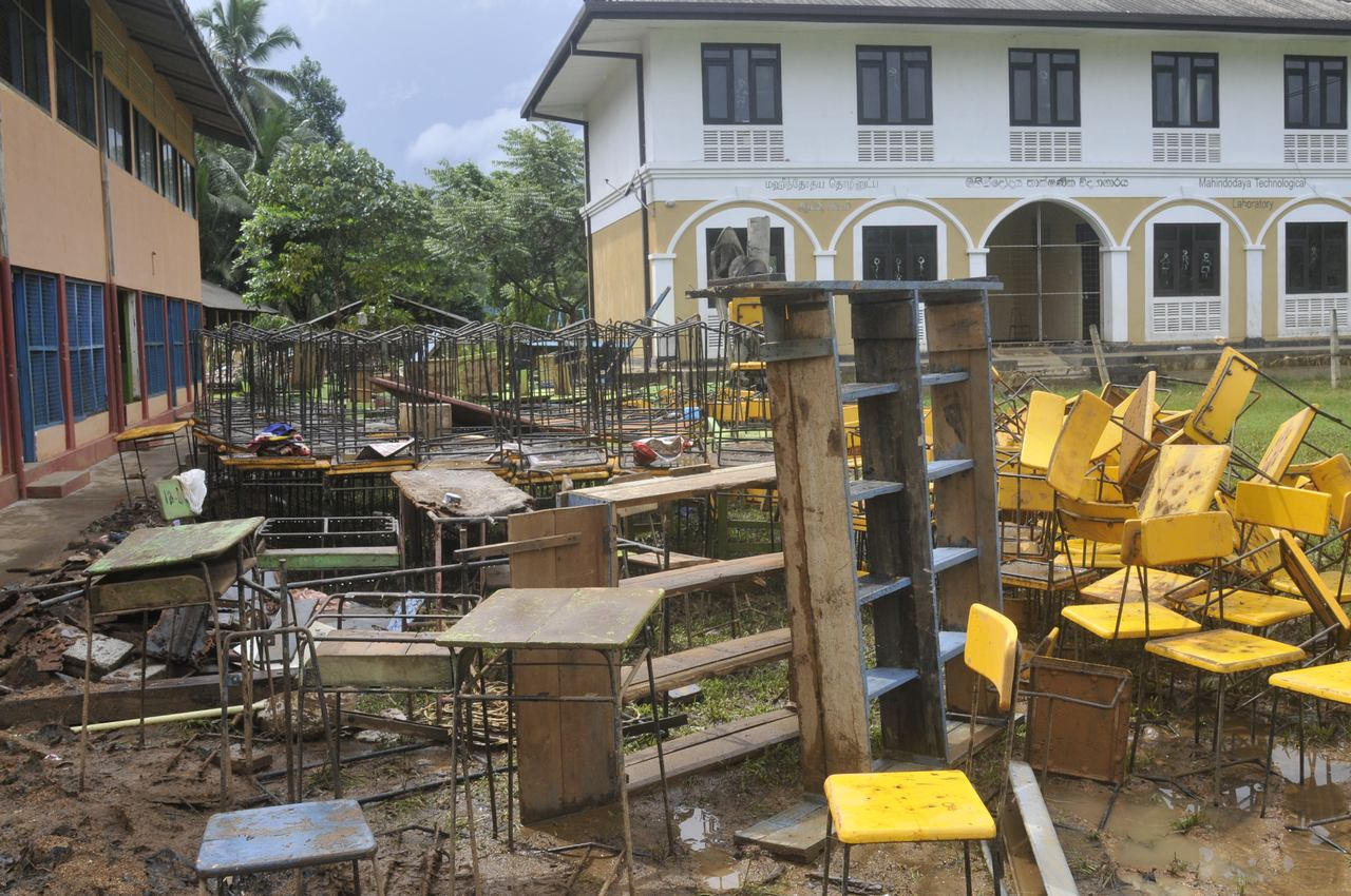 Reconstruction and Rehabilitation activities are being carried out in flood and landslide affected Ratnapura District