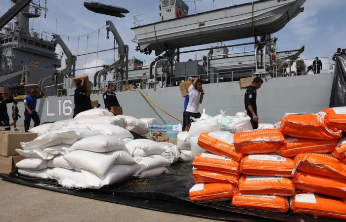 Second Indian ship with relief goods arrive_3