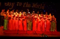 Christmas carol program at difference service college 2014-12-29