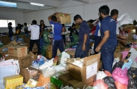 Pix Shows the Relief Goods Being Collected and Ready for Dispatch, to Affected Areas @ Colombo AirPort (Ratmalana)_2