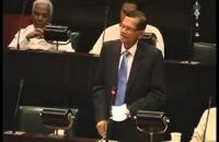 Hon G.L. Peries. parliament18 06 2014