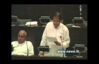 Hon: dr: sarath amunugama budget 2015 (2014-11-21)