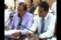 Meeting of Fisheries Ministry