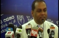 Hon.Min: Mahinda amaraweera (PRESS BRIEFING AT S.L.A.F. 2014 12 04)