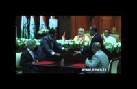 Indian prime minister arrive at prudential secretariat for official welcome ceremony