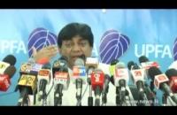 Hon. Dilan perera at .s.l.a.f. press briefing 2014 12 17