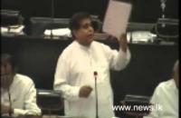 Hon  Nimal siripala de silwa -budget 2015 (2014-11-24)